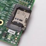 MicroSD insertada