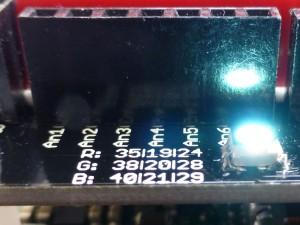Pines analógicos y LED RGB