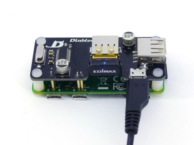 USB SHOE (prototipo) con wifi
