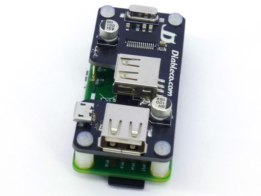 Prototipo del USB SHOE en una rPi Zero
