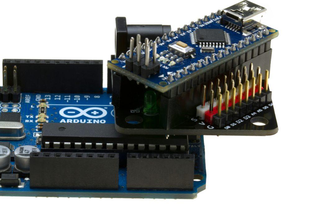 FuracosNano sobre un Arduino Uno
