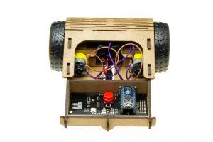 Vista interior al robot Caparrucia