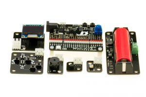raspiPRENDE y los Ladrillos del kit Kickstarter